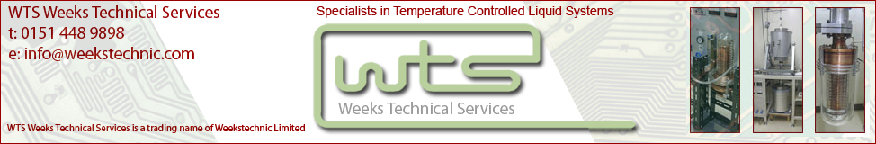 Weeks Technical Services are a small team of highly experienced and professionally qualified Engineers with a strong technical background, offering sales, installation, repair, spares and consultancy services for customers involved in a diverse range of processes and applications that require precise cooling and liquid temperature control systems.